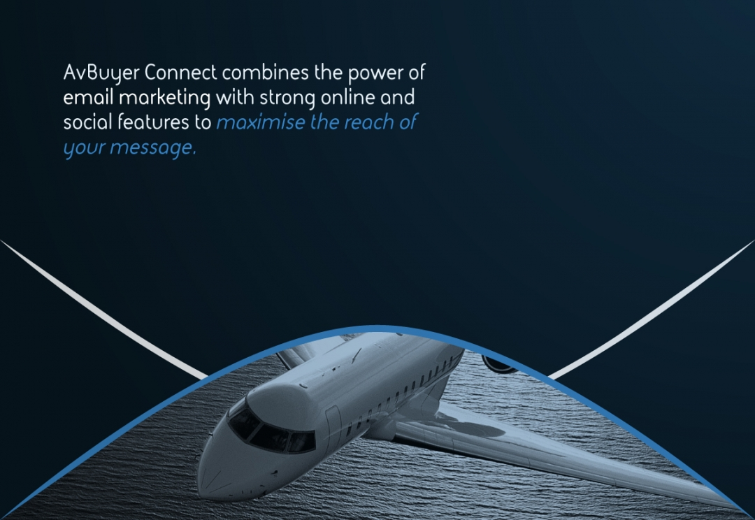 Aircraft email marketing branding