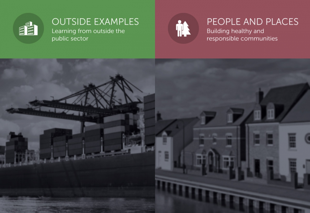 Public services consultancy branding