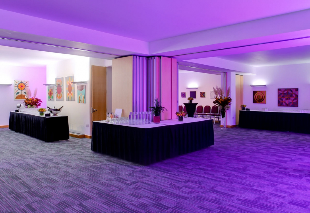 Conference venues branding and website design