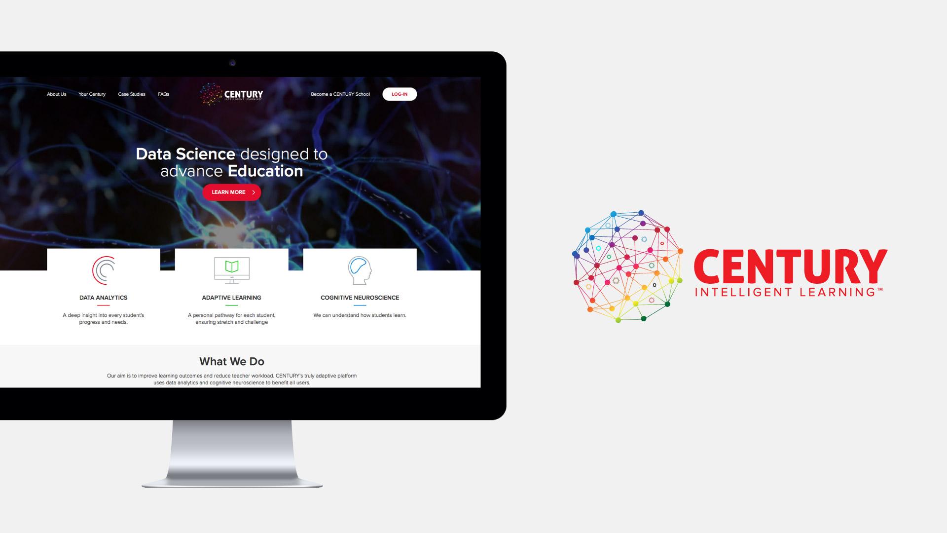 Education technology website design