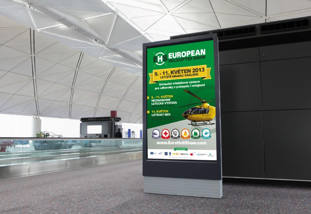 Aviation Event billboard design