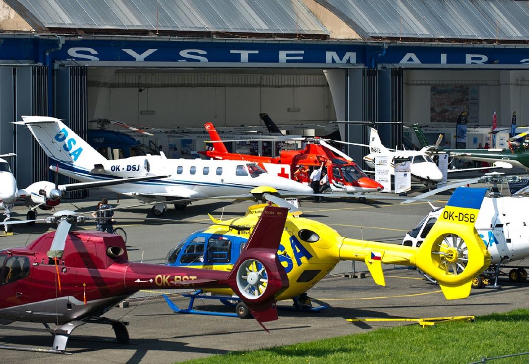 Aviation Event branding and website