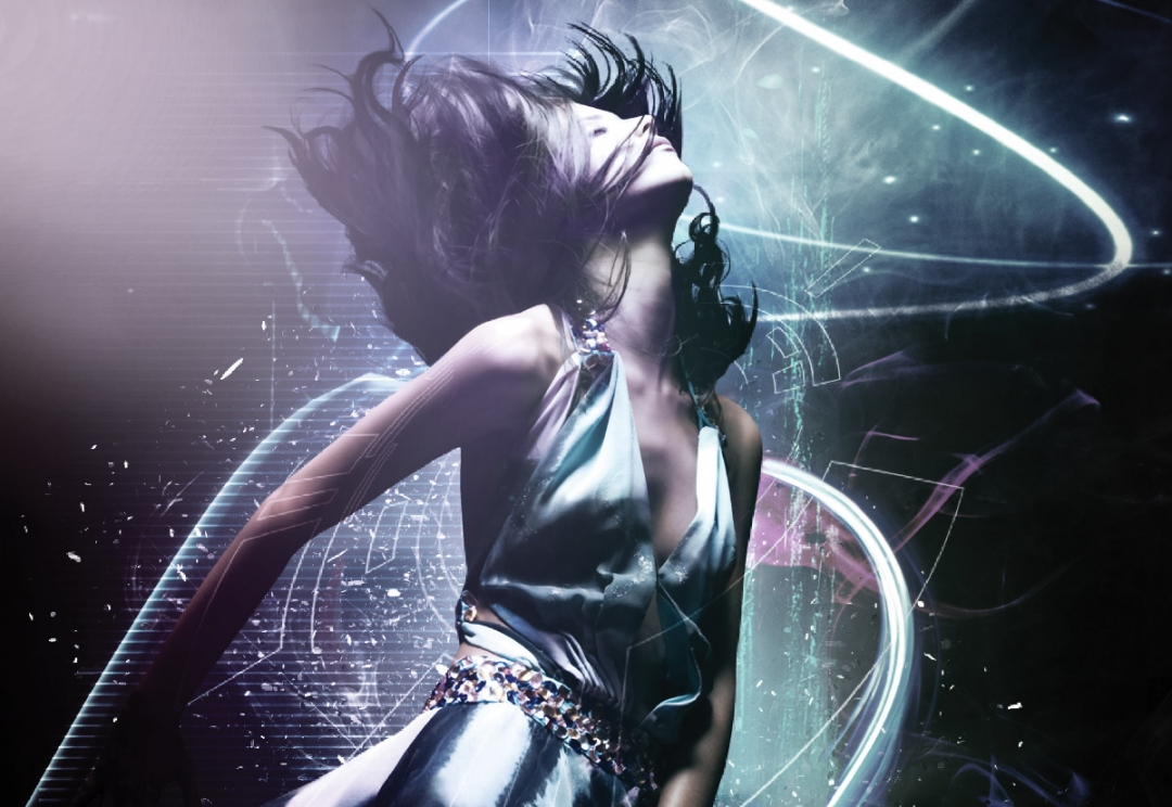 Nightclub event flyer design