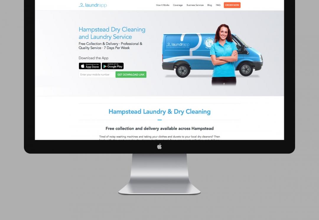 Tech start-up website design and development