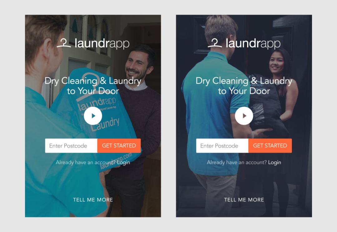 Tech start-up responsive website design