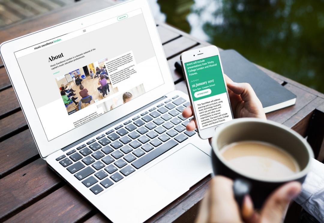 Music education website design
