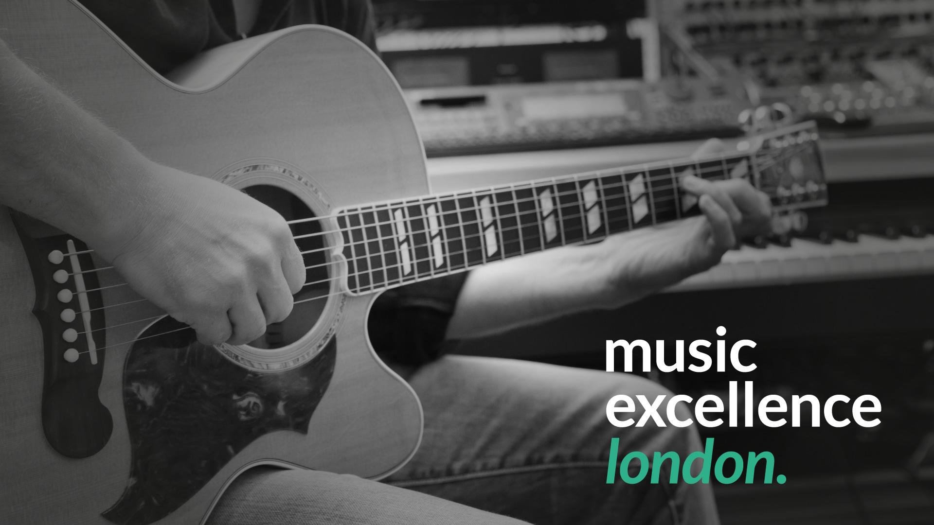 Music education website and logo design