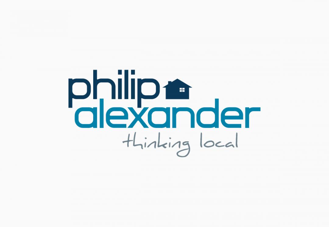 Estate agent logo design