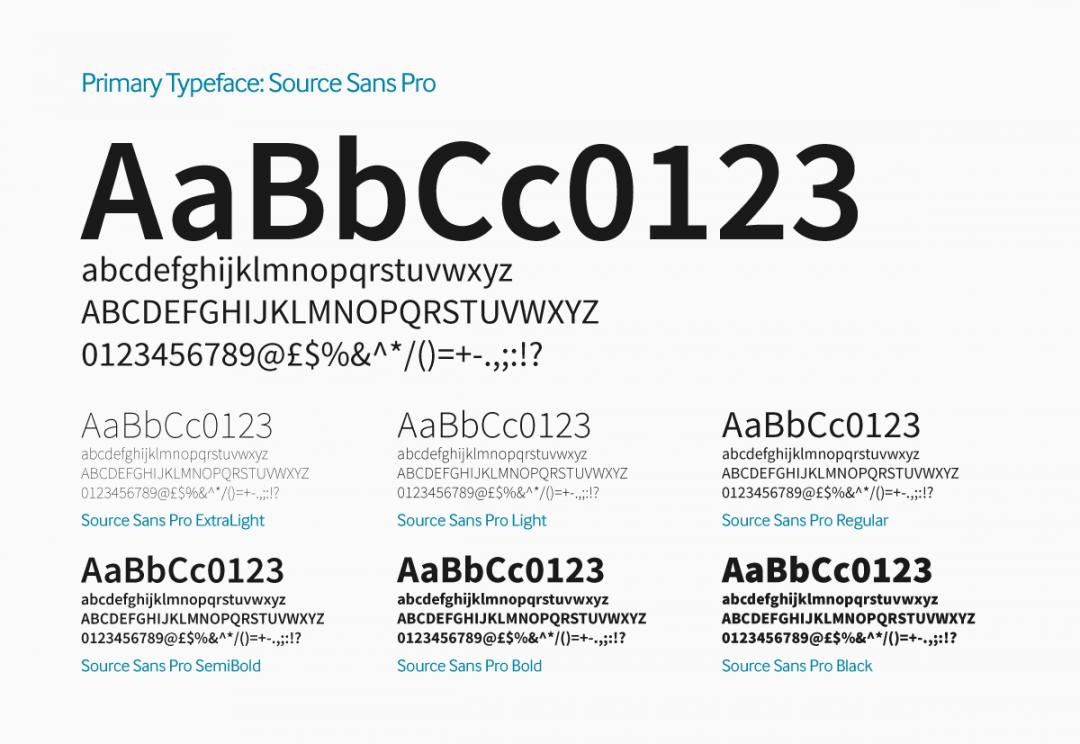 Estate agent branding typography