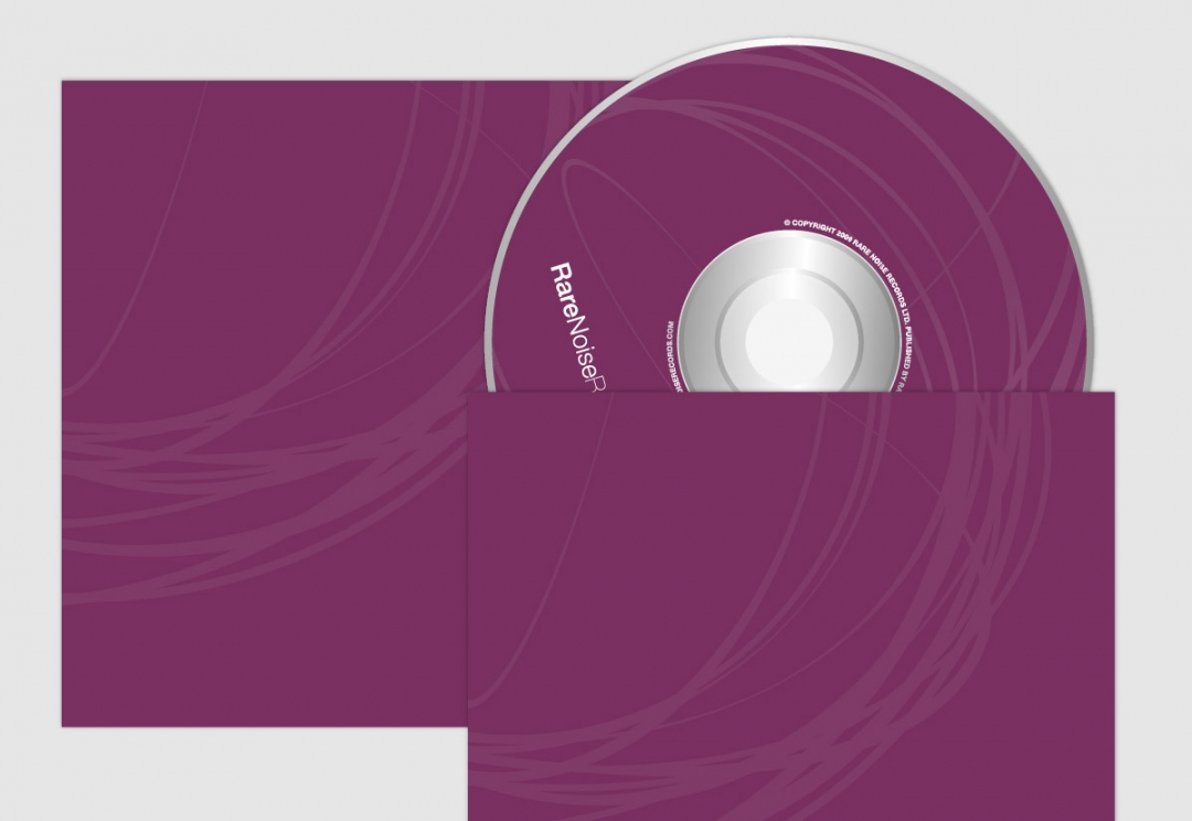 Record label cd design