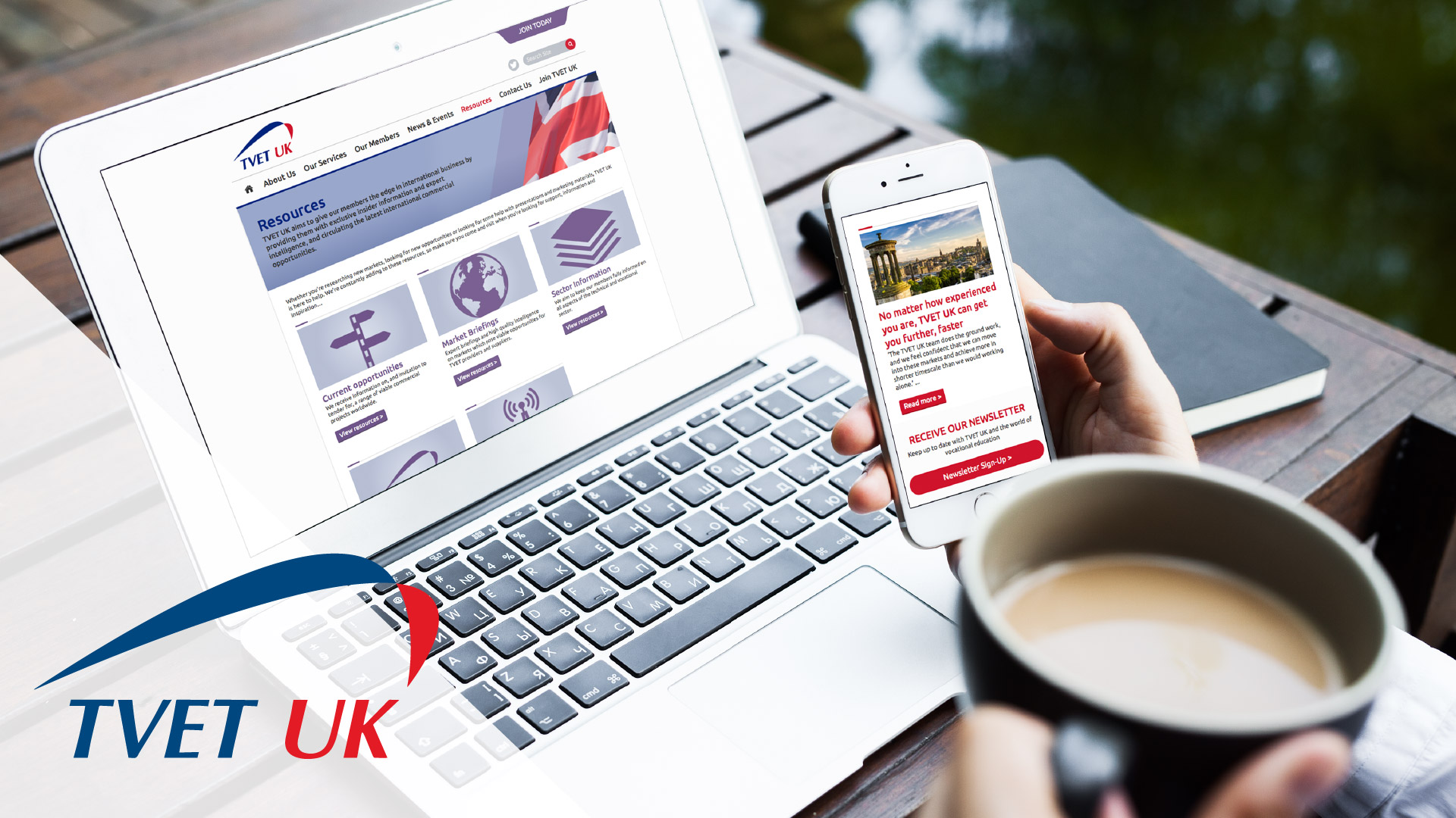 UK education organisation website design