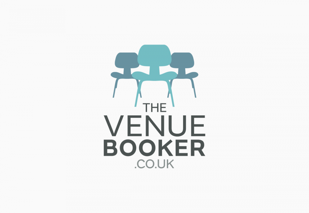 Venue finding service logo design
