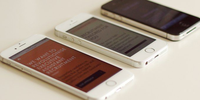Mobile device testing - iPhones