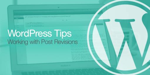 Wordpress Post Revisions